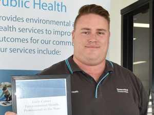 Mackay environmental health officer recognised for work