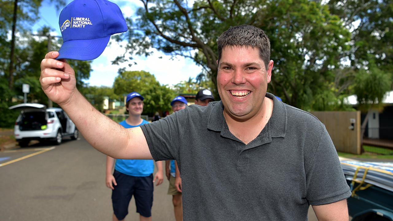 Buderim MP Brent Mickelberg has claimed a second term.