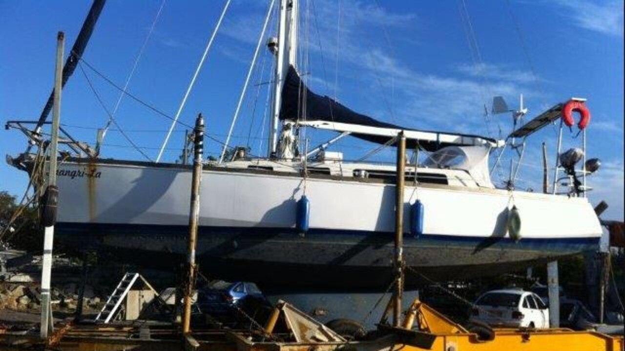 Markis Turner fled Australia on a yacht formerly named Shangri-La.