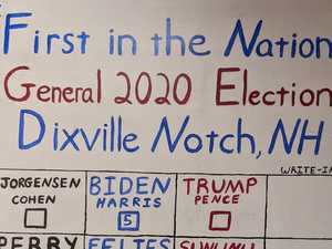 Unanimous result in first US ballot