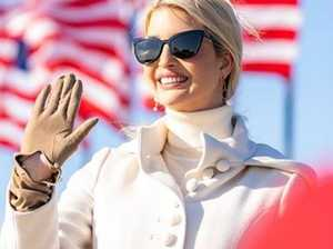 Ivanka stuns as she campaigns for dad