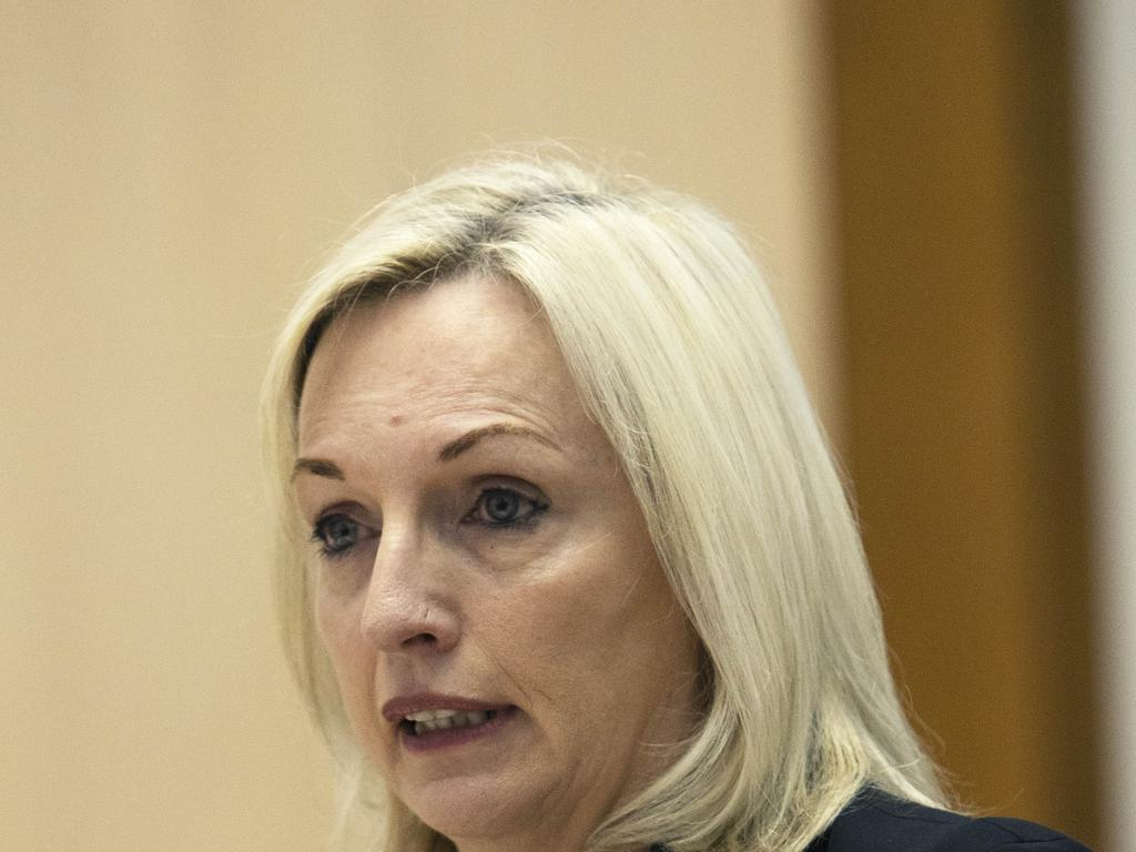 Australia Post chief executive Christine Holgate has resigned. Picture: NCA NewsWire / Gary Ramage