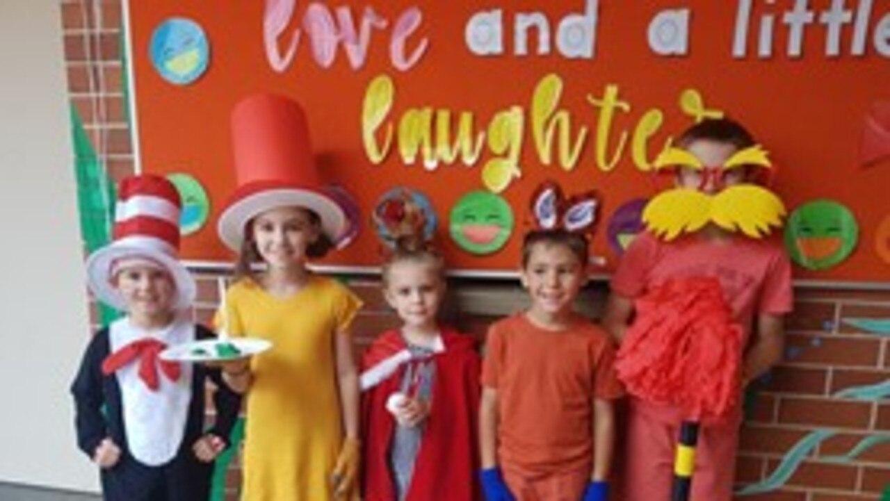 Maclean Public School students get into the spirit of Book Week