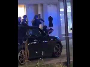 Suspect still on the run in horror Austria terror attack
