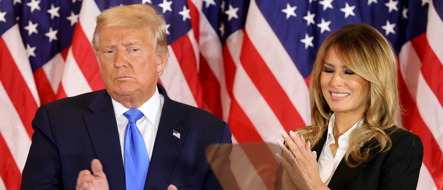 A claim of election fraud from President Donald Trump prompted a huge backlash from Twitter, as the US election result hangs in the balance.