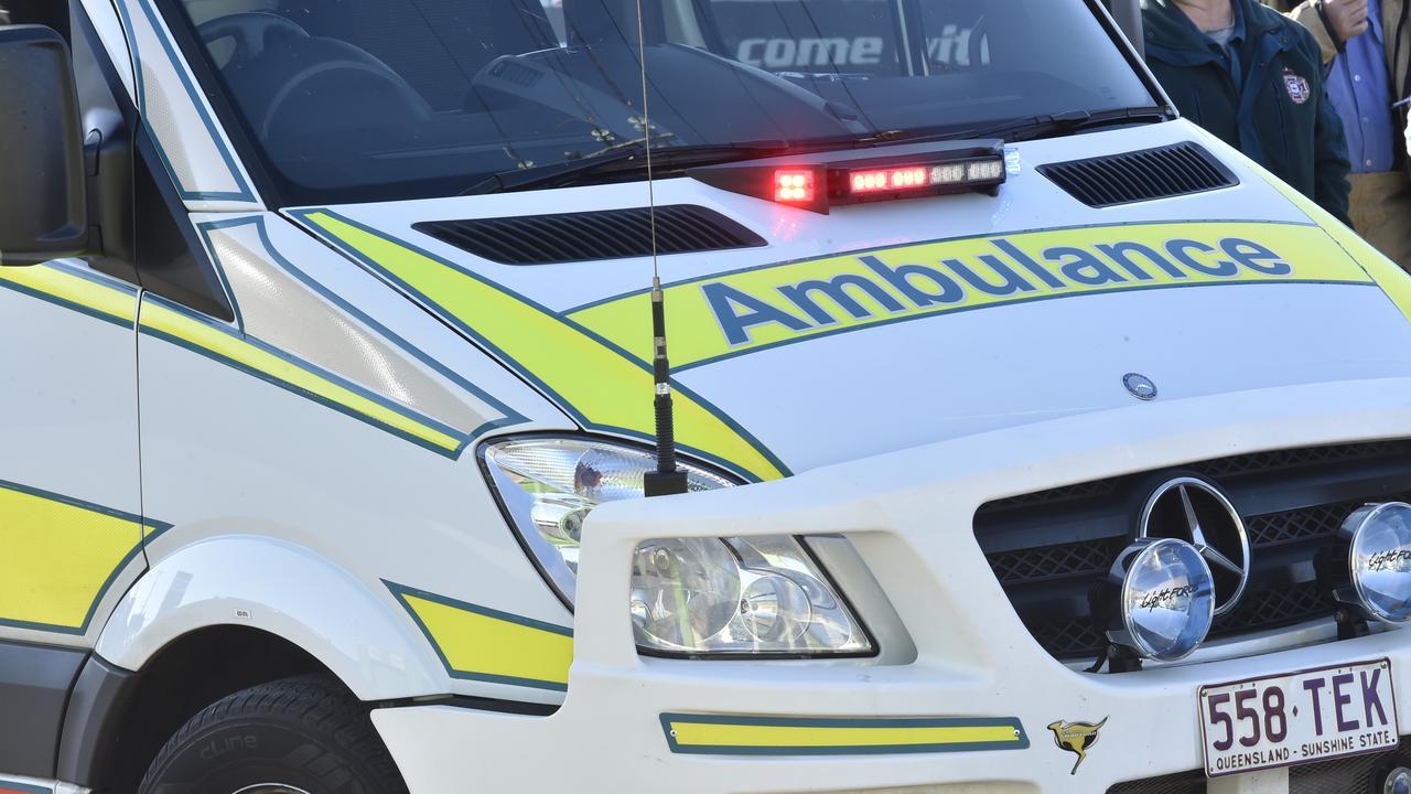 Emergency Services, Ambulance, QAS; Pic: Bev Lacey