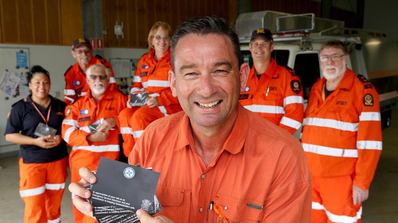 Minister for Emergency Services Craig Crawford says the SES will be ready for cyclone season. PICTURE: ANNA ROGERS