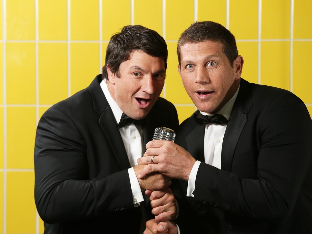 Fletch and Hindy have become Fox League staples.
