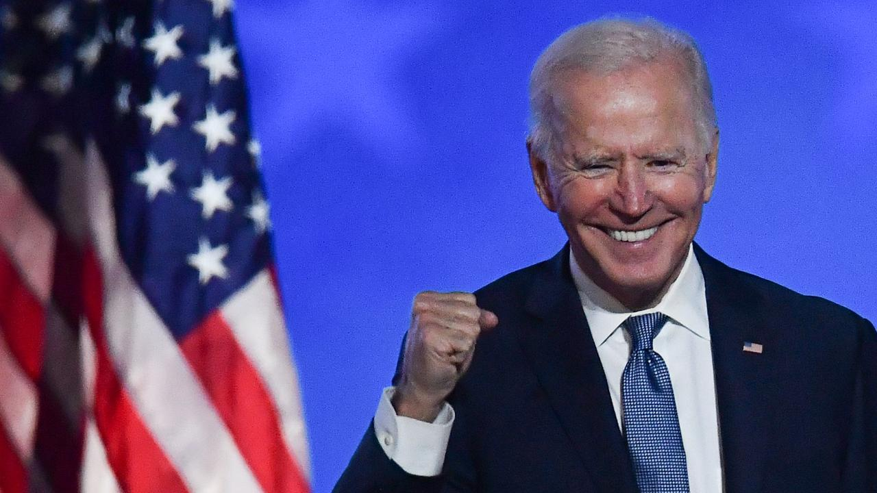 Joe Biden was in a reflective mood when he kicked off the most important day of his decades-long political career. This is how Election Day played out.