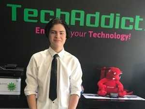 Dane on track to a career in tech