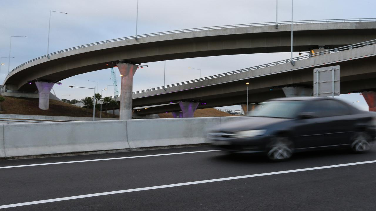 A scoping study is being carries out on selling the remainder of West Connex. Picture: Daily Telegraph/ Gaye Gerard