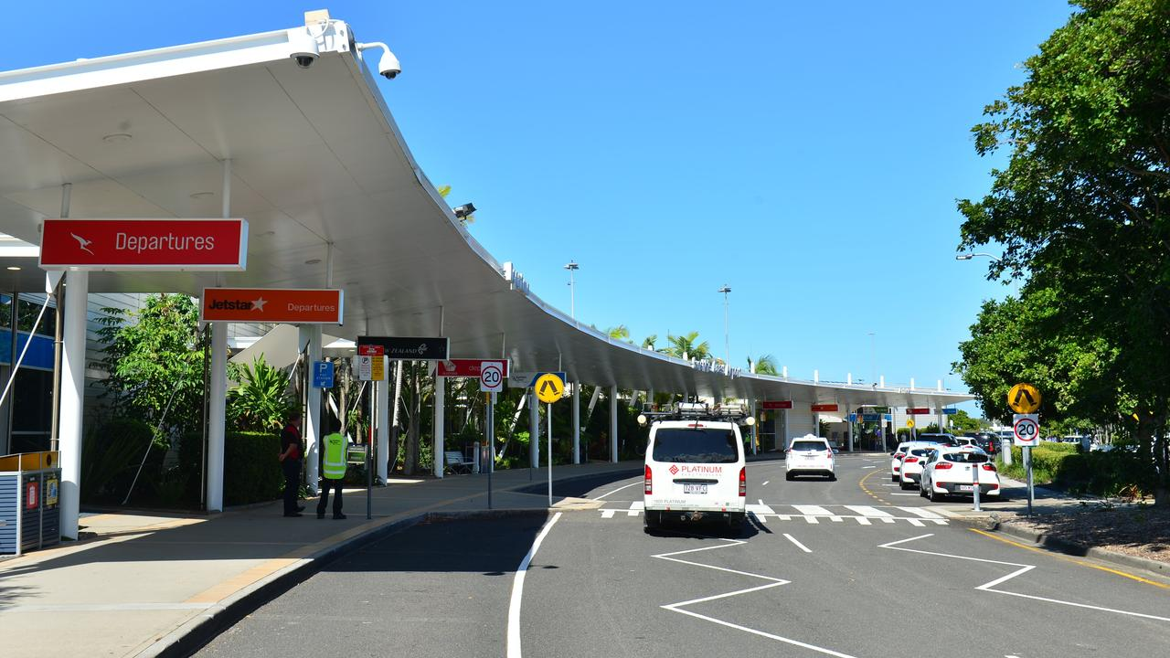 Sunshine Coast Airport departures and arrivals have been much quieter since the pandemic struck.