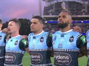 Four Origin stars boycott national anthem