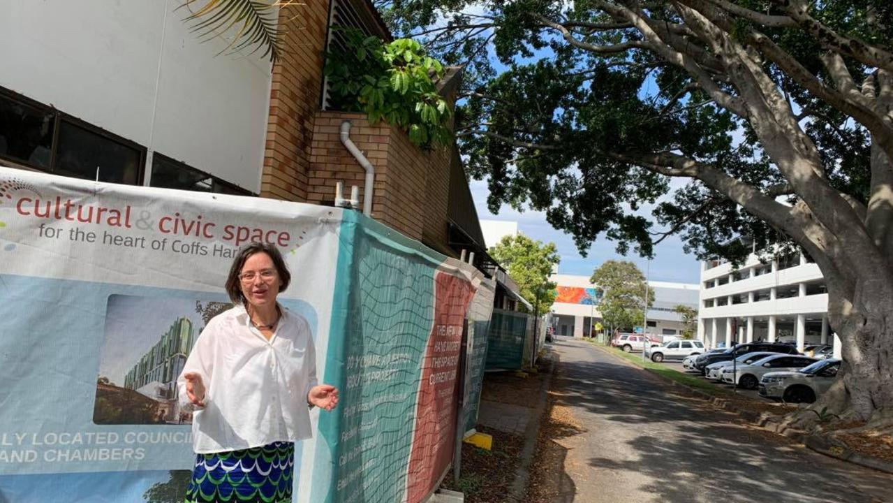 Coffs Harbour City Council Gallery and Museum Curator Jo Besley is passionate about the vision for the Cultural and Civic Space. The Riding Lane fig tree will be retained as a central feature of the building.