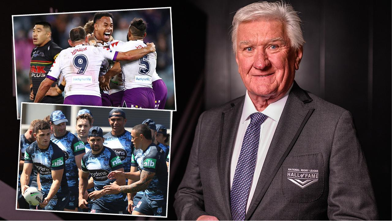 "Ray Warren says quitting as the voice of rugby league ""would be like cutting off my right arm"", but the veteran broadcaster has made a huge statement."