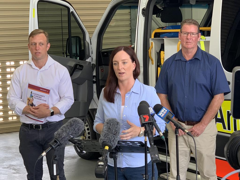 ELECTION PLEDGE: Deputy Premier and Minister for Health Steven Miles and Labor candidates for Keppel Brittany Lauga and Rockhampton Barry O'Rourke have promised $5.5 million to build a brand new and expanded North Rockhampton Ambulance Station if re-elected.