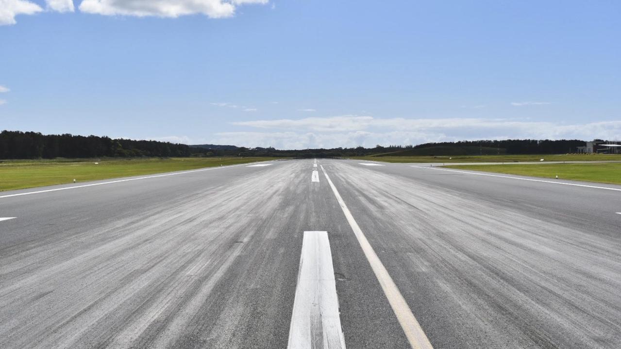 Ballina Byron Gateway Airport tarmac.