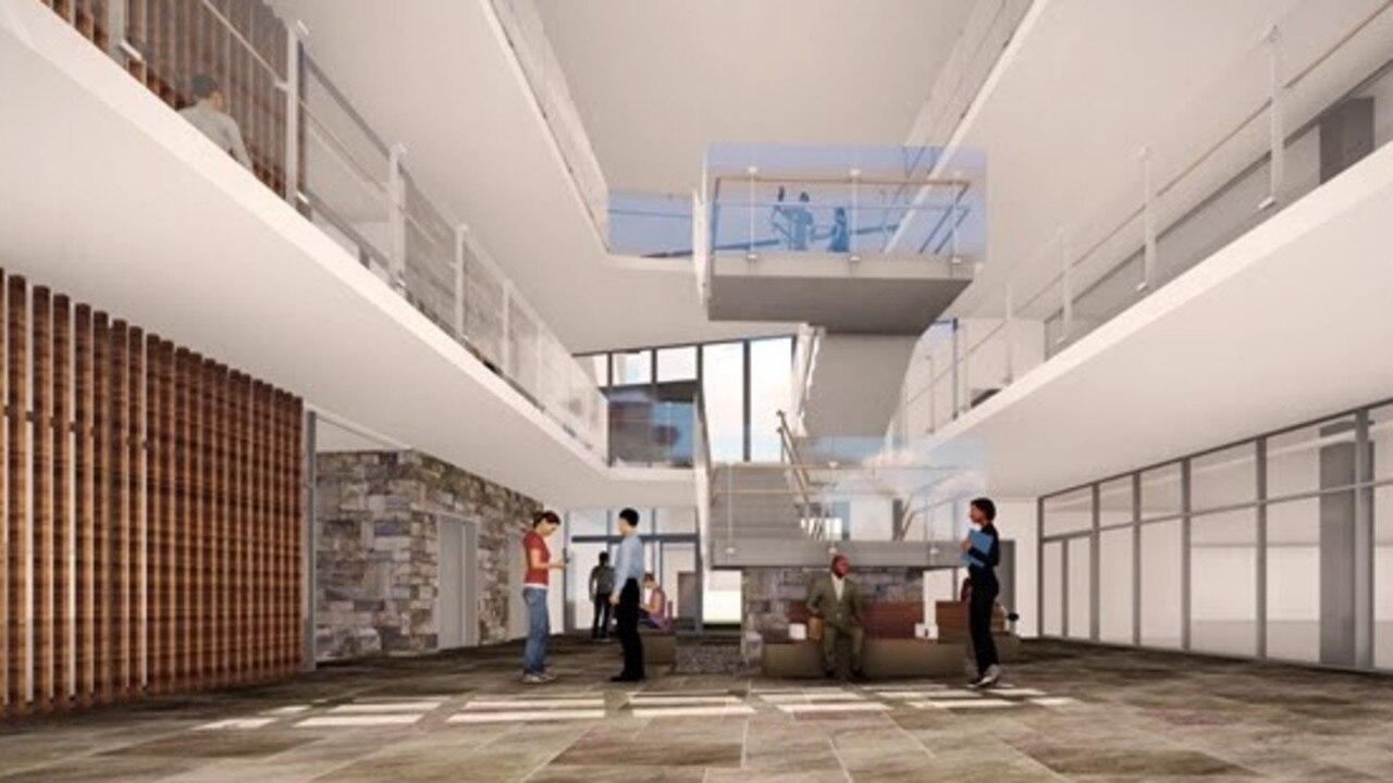 The internal foyer off the new Noosaville medical precinct. Photo: Supplied