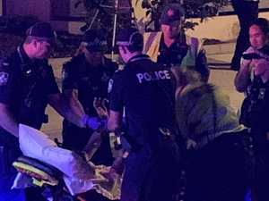 Man fights for life after Brisbane bashing