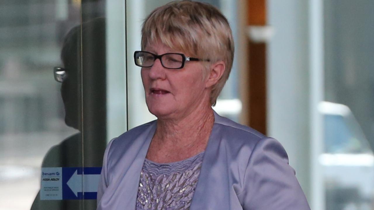 Elizabeth Turner at Brisbane Supreme Court in 2016 where it is alleged she gave false testimony.
