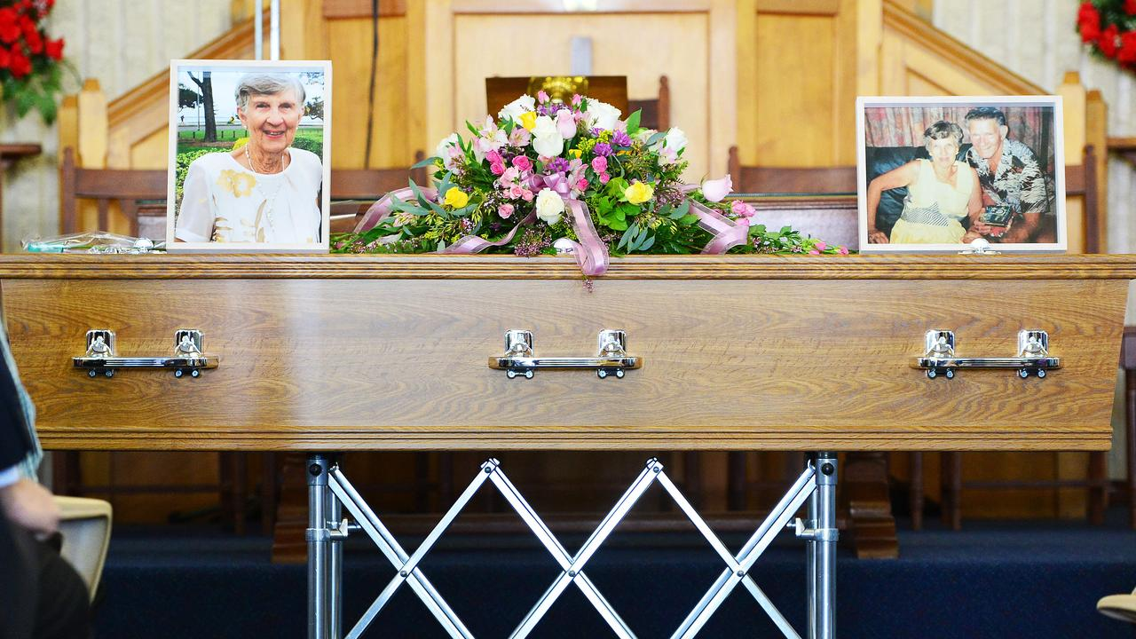 Funeral of Elizabeth Kippin from St Andrew's Presbyterian Church. Picture: Zak Simmonds