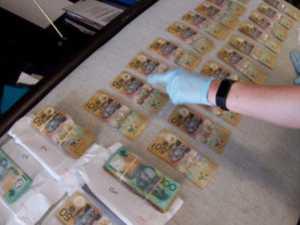 Cash seized in $1.2m grant fraud sting