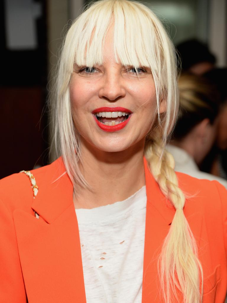 Australian recording artist Sia also enjoys a vegan lifestyle. Picture by Michael Kovac