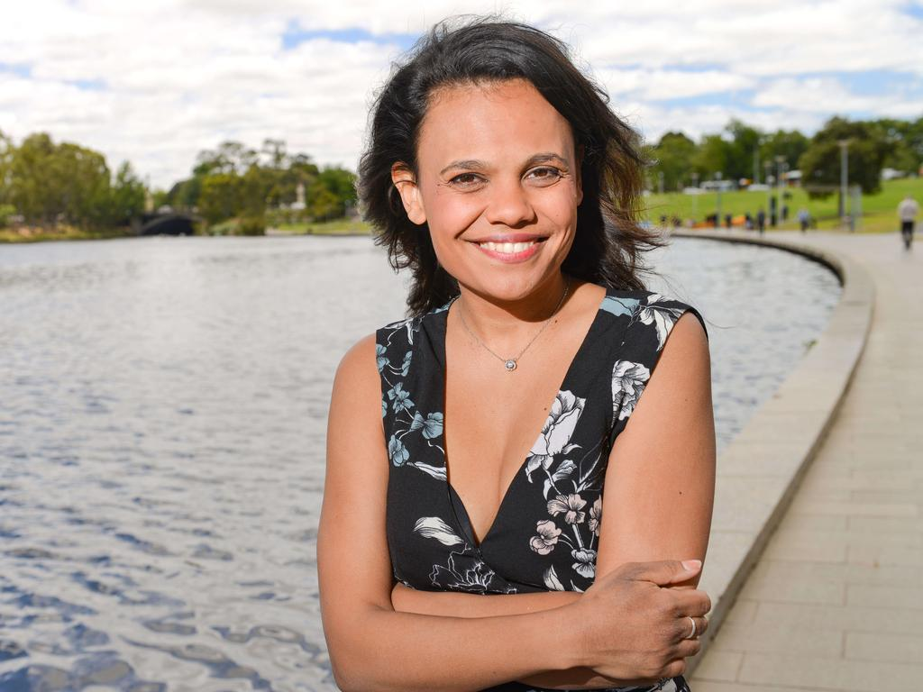NT actor Miranda Tapsell is about to hit movie screens again in a new film. Picture: Brenton Edwards