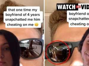 Photo that exposed cheating boyfriend