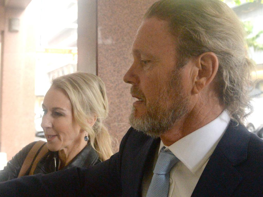 Videos of Craig McLachlan have been played in court as he was quizzed in the indecent assault case. Picture: Jeremy Piper