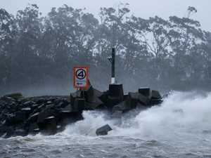 Wind and waves to lash NSW coastline