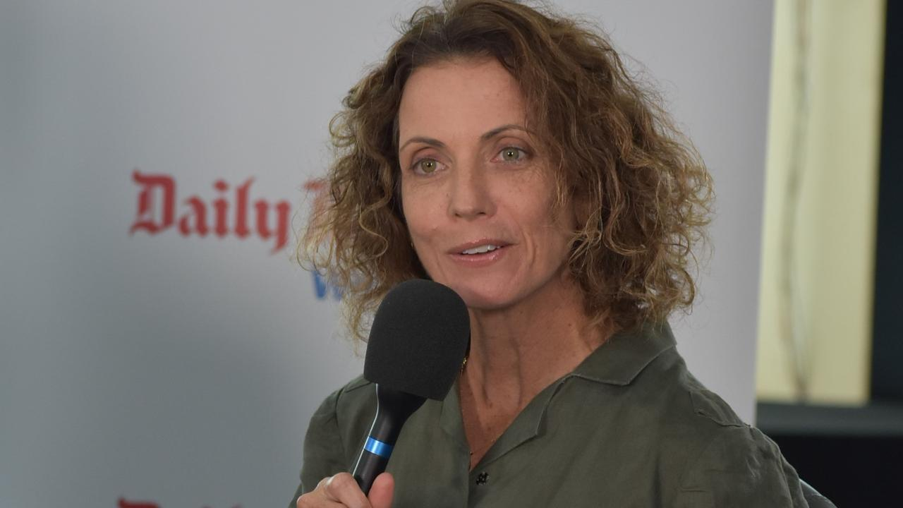 Labor candidate Angie Kelly at the 2020 Whitsunday election debate at the Northern Beaches Bowls Club in the Northern Beaches of Mackay. Picture: Rae Wilson