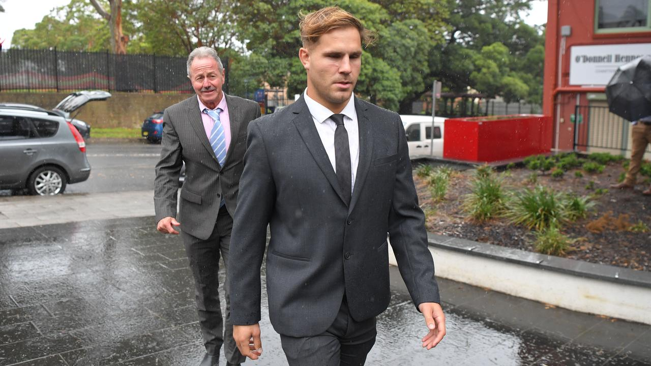 Alleged rapist Jack de Belin is being courted by rival NRL clubs. Picture: NCA NewsWire / Simon Bullard