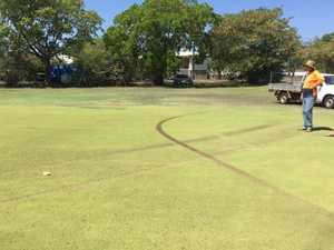 'DISAPPOINTING': Hoons damage CQ golf green
