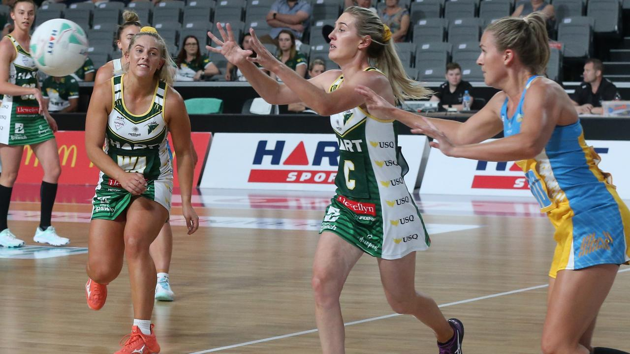 The minor premiership-winning USQ Jets are eager to secure a direct passage to the Sapphire Series grand final by beating Cougars in Saturday night's semi-final. Picture: Jets Media