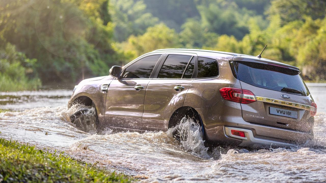 Ford's Everest is also experiencing a resurgence.