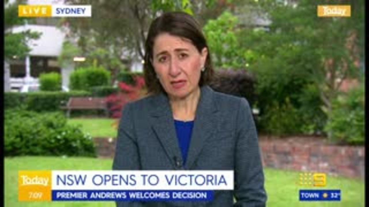 Berejiklian says Palaszczuk won't pick up her calls in border battle