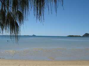 Crews rescue women trapped in van at Dingo Beach