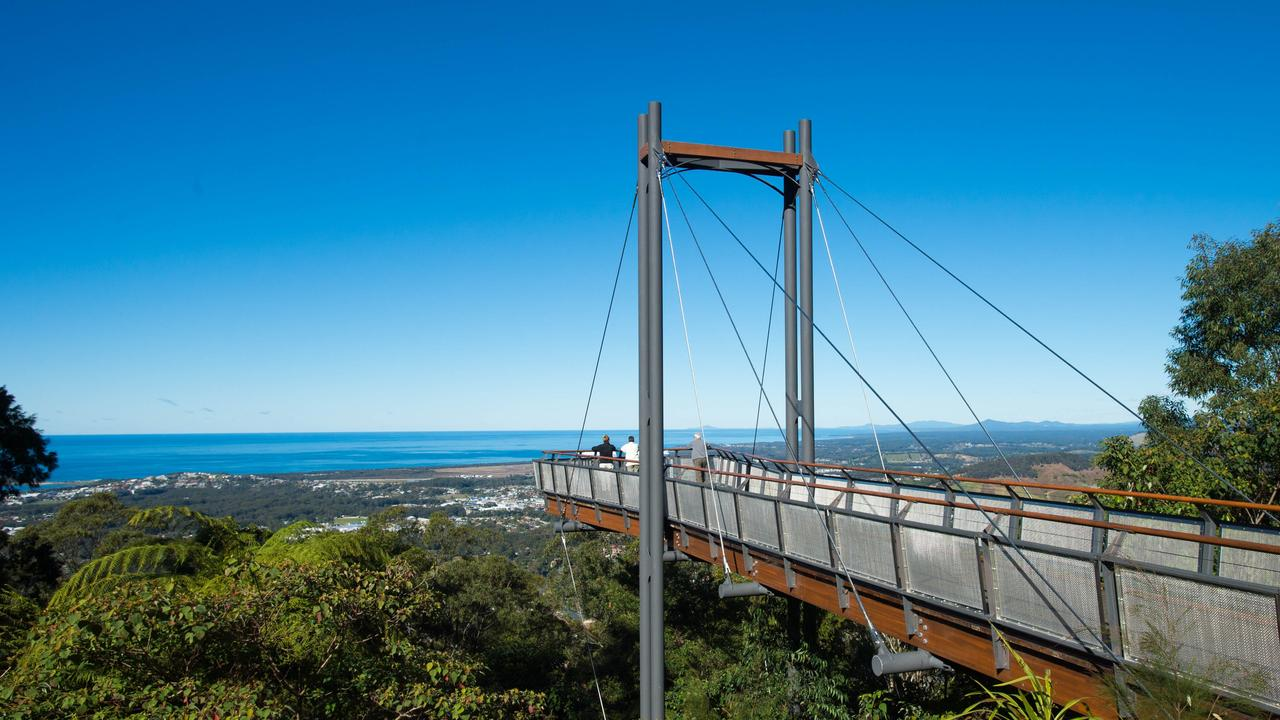 Sealy Lookout at Bruxner Park has already achieved eco-tourism certification.
