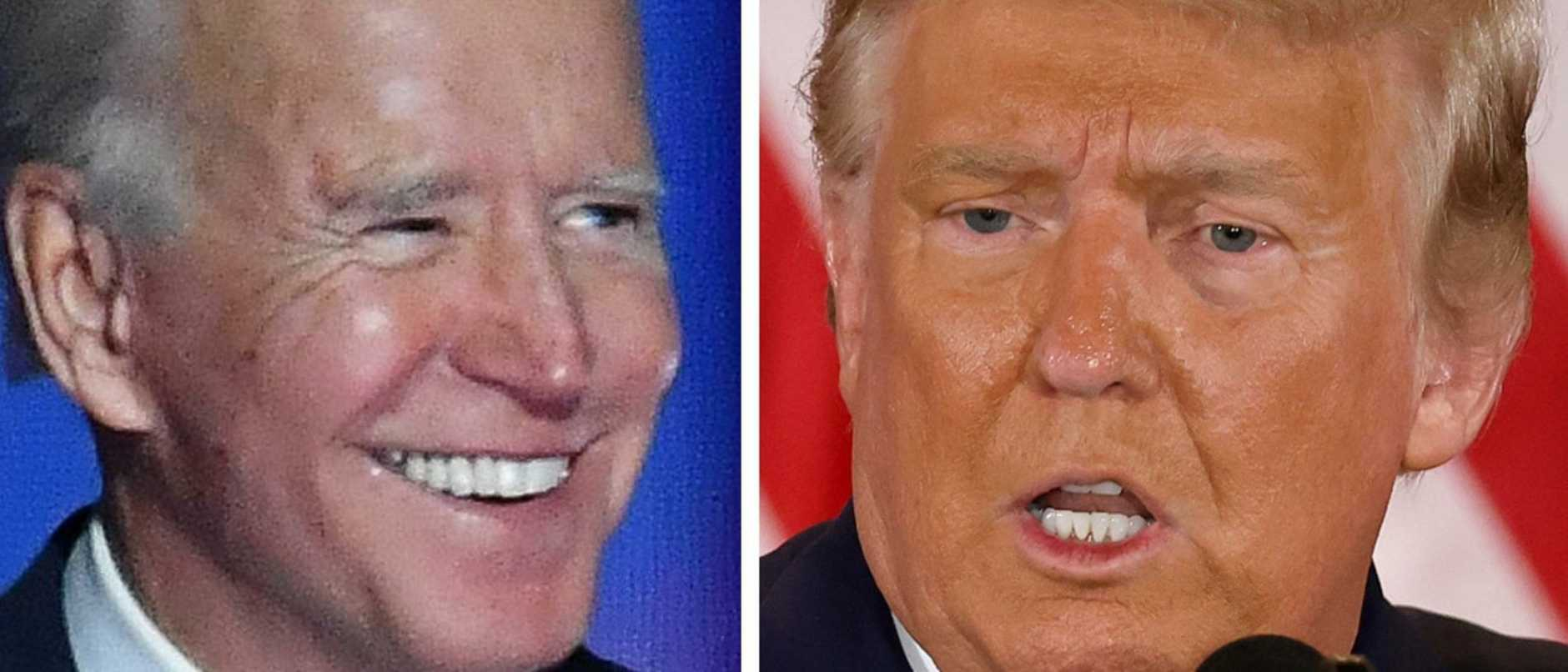 The knife-edge US presidential race is tilted toward Joe Biden, but Donald Trump is going to court claiming he is being cheated.
