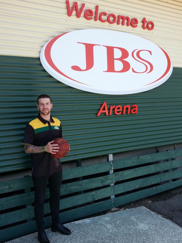 Ipswich Basketball Association development manager and Force women's coach Brady Walmsley. Picture: David Lems