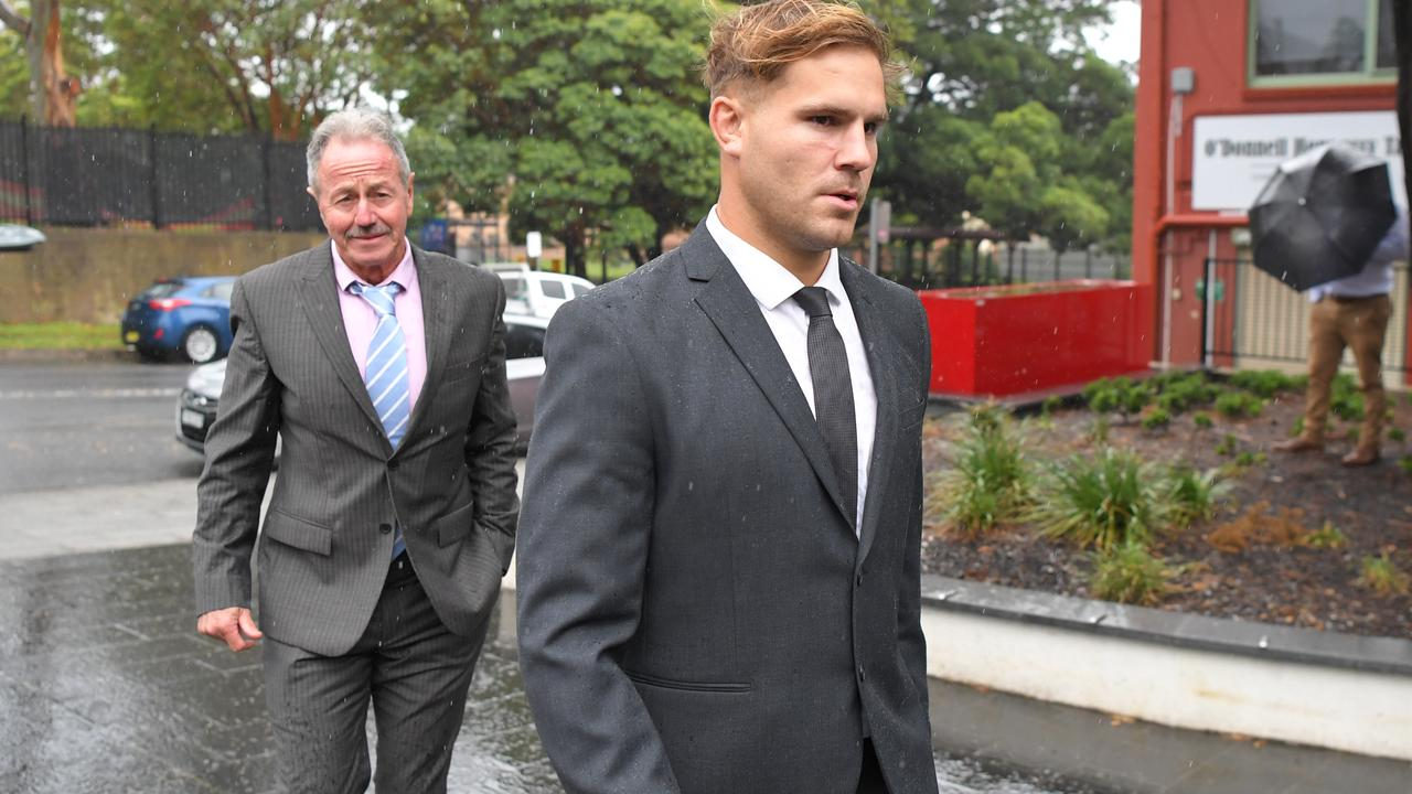 The woman who accused NRL star Jack de Belin has hit back at claims she lied about the alleged sexual assault, saying she still has sleepless nights two years on.