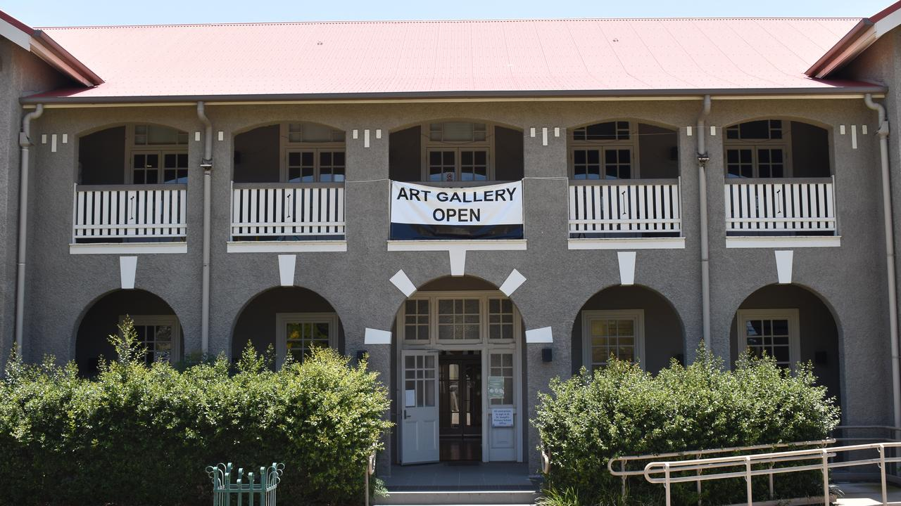 The Gayndah Art Gallery is a 100-year-old building that used to be a convent. (Picture: Kristen Camp)