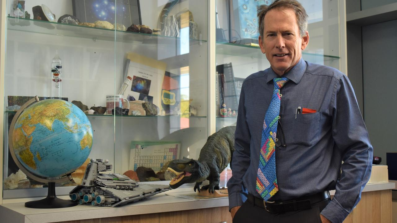 Mercy College Mackay principal Jim Ford was recently voted Mackay's best principal. Picture: Heidi Petith
