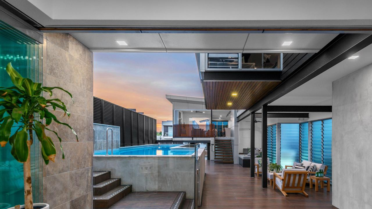 The Bulimba house sold for $2.2 million through Place estate agency.