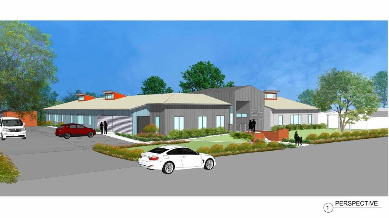Design of a proposed child care centre at Emerald.