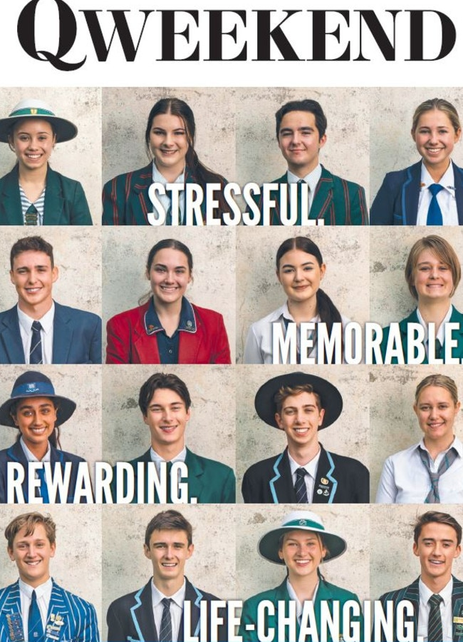 The Class of 2020 tell QWeekend how they survived their final year of school amid COVID-19 chaos.