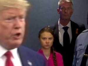 Greta's brutal Donald Trump troll
