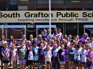 South Grafton Primary goes purple for Jacaranda
