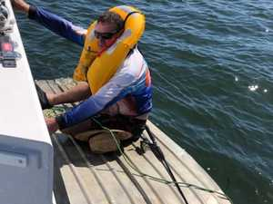 Fisherman 'wouldn't have made it' without lifejacket